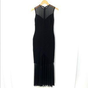 TADASHI Sleeveless Fitted Mermaid Long Dress K21